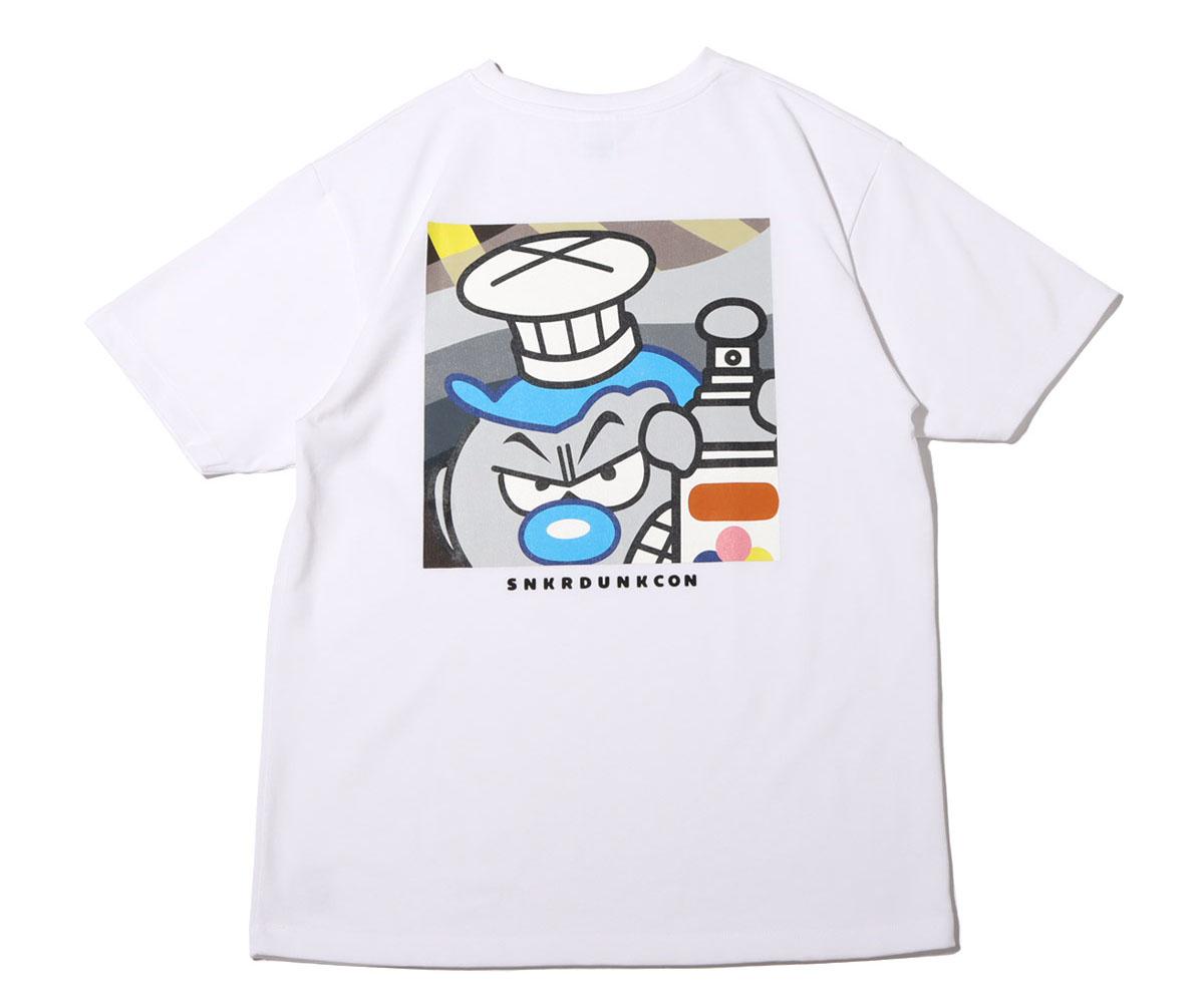 スニーカーダンク(スニダン)×COOK(クック)×atmos(アトモス) コラボTシャツ1