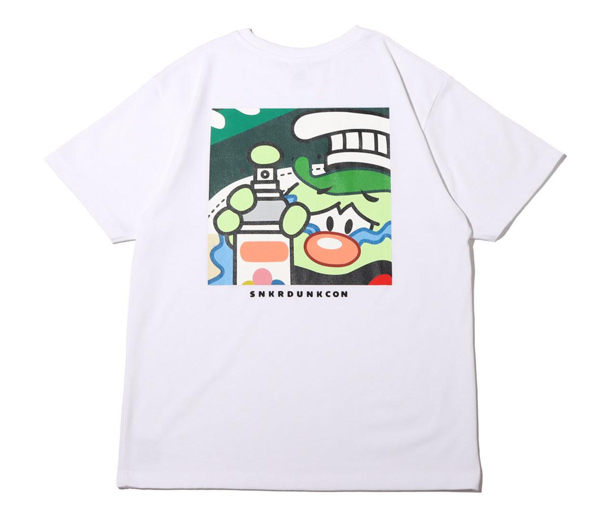 スニーカーダンク(スニダン)×COOK(クック)×atmos(アトモス) コラボTシャツ5