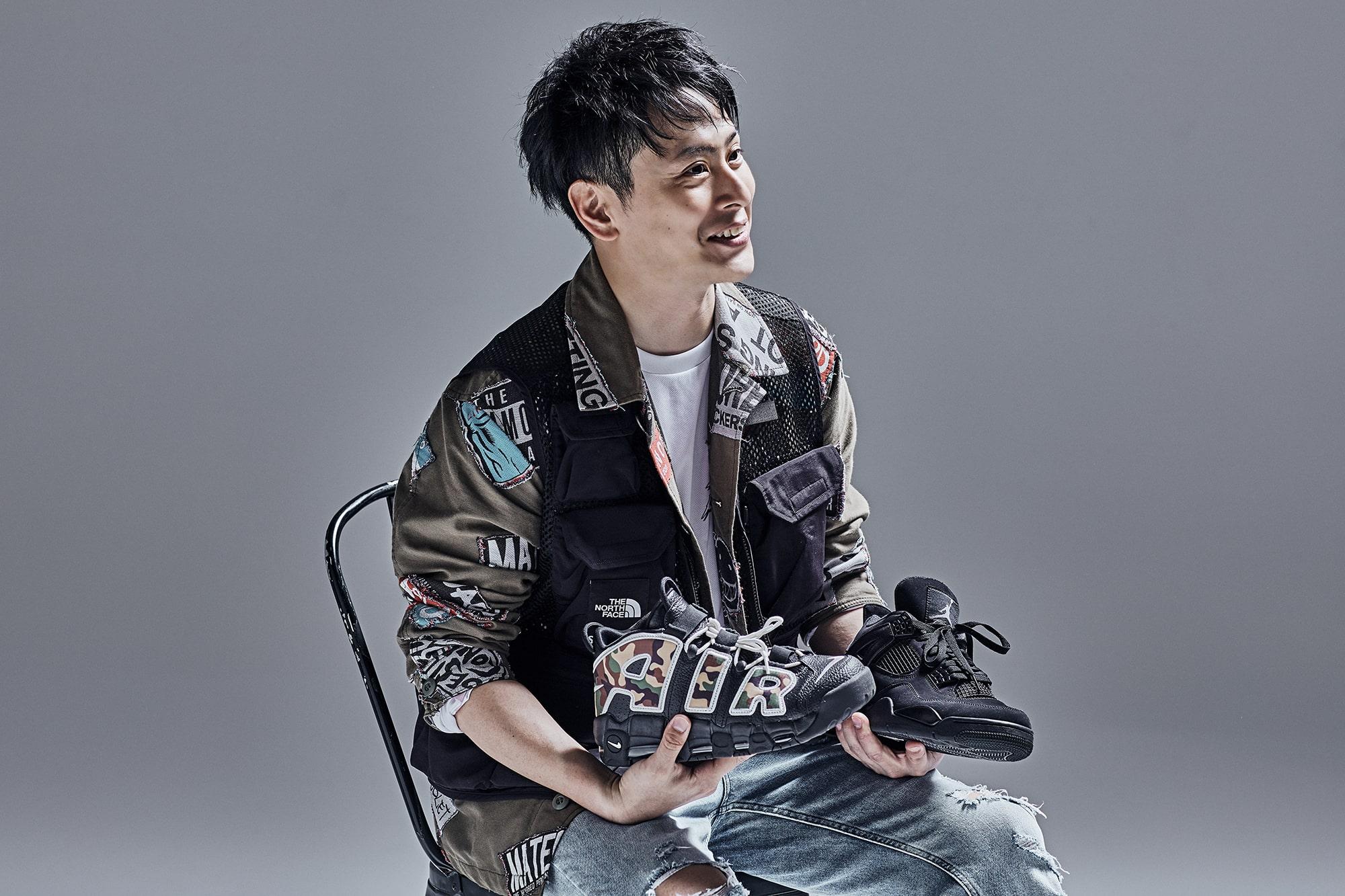 山下健二郎 スニーカーのインタビュー写真8