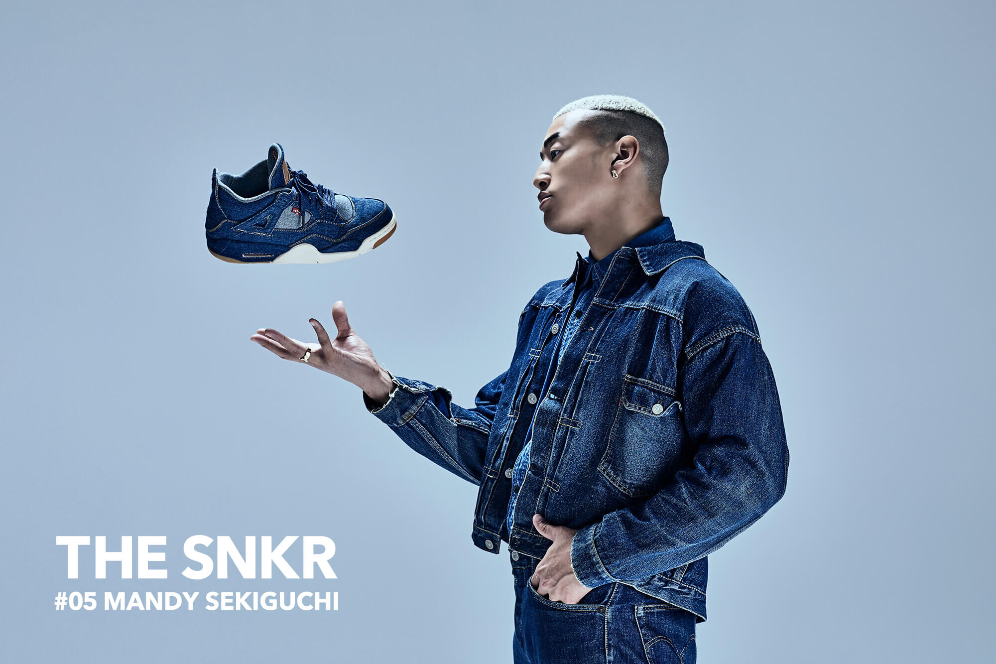 THE SNKR #05 関口メンディー GENERATIONS from EXILE TRIBE