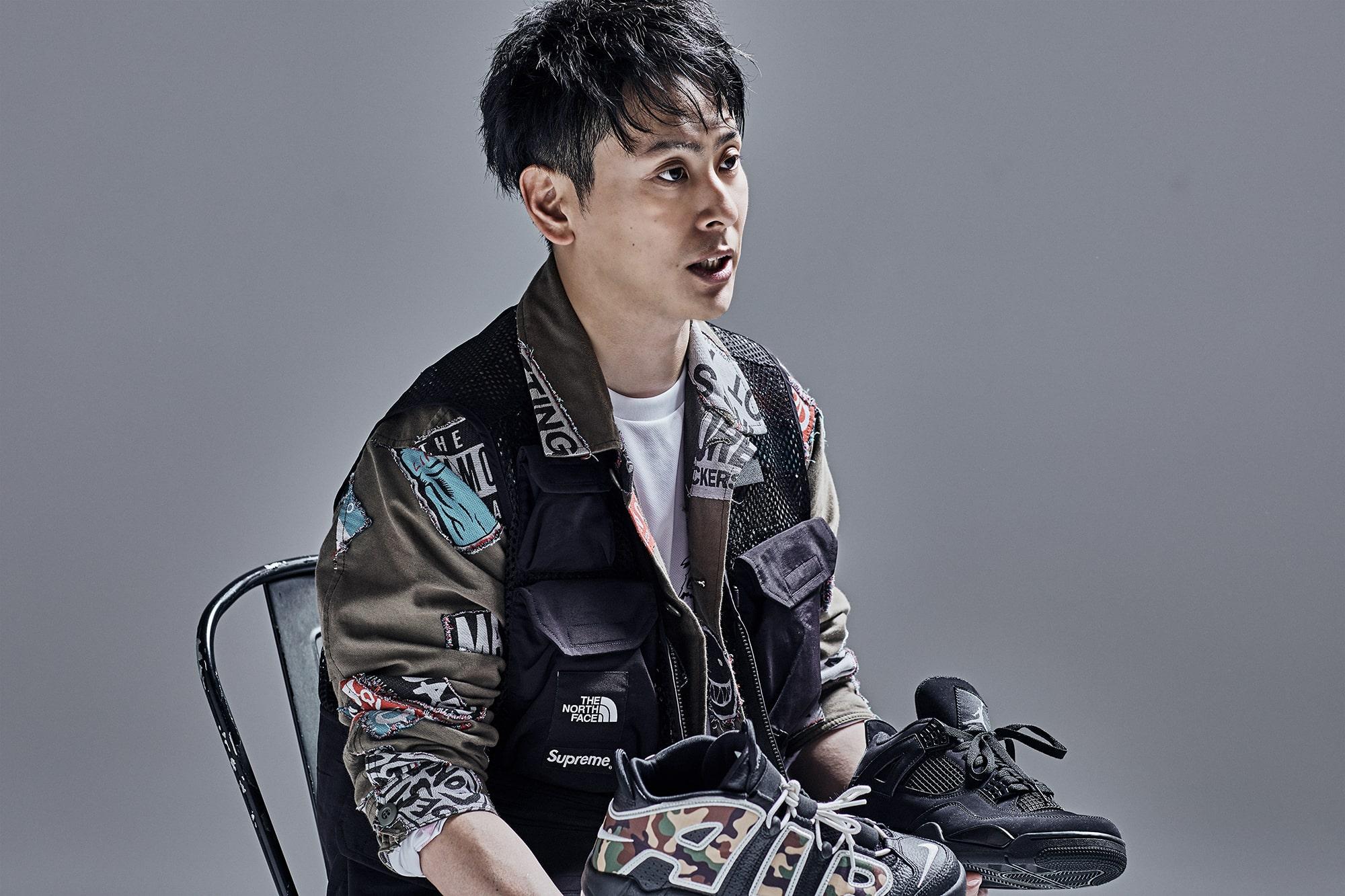 山下健二郎 スニーカーのインタビュー写真9