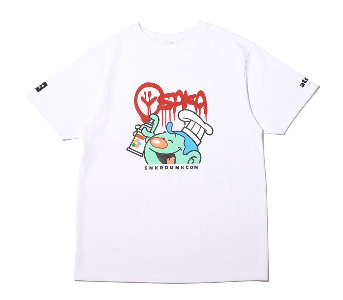 スニーカーダンク(スニダン)×COOK(クック)×atmos(アトモス) 大阪限定Tシャツ