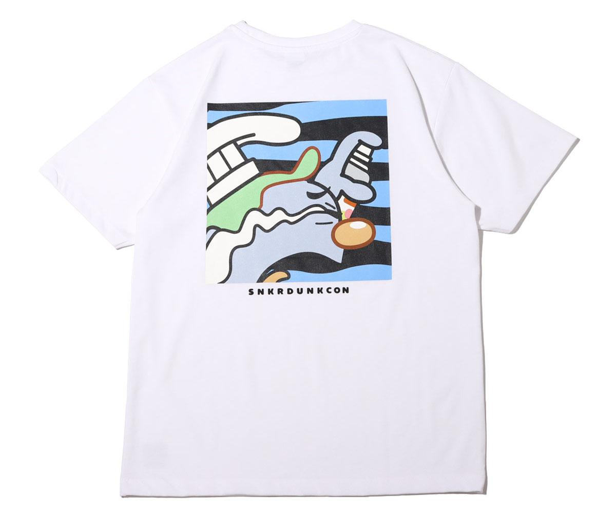 スニーカーダンク(スニダン)×COOK(クック)×atmos(アトモス) コラボTシャツ3