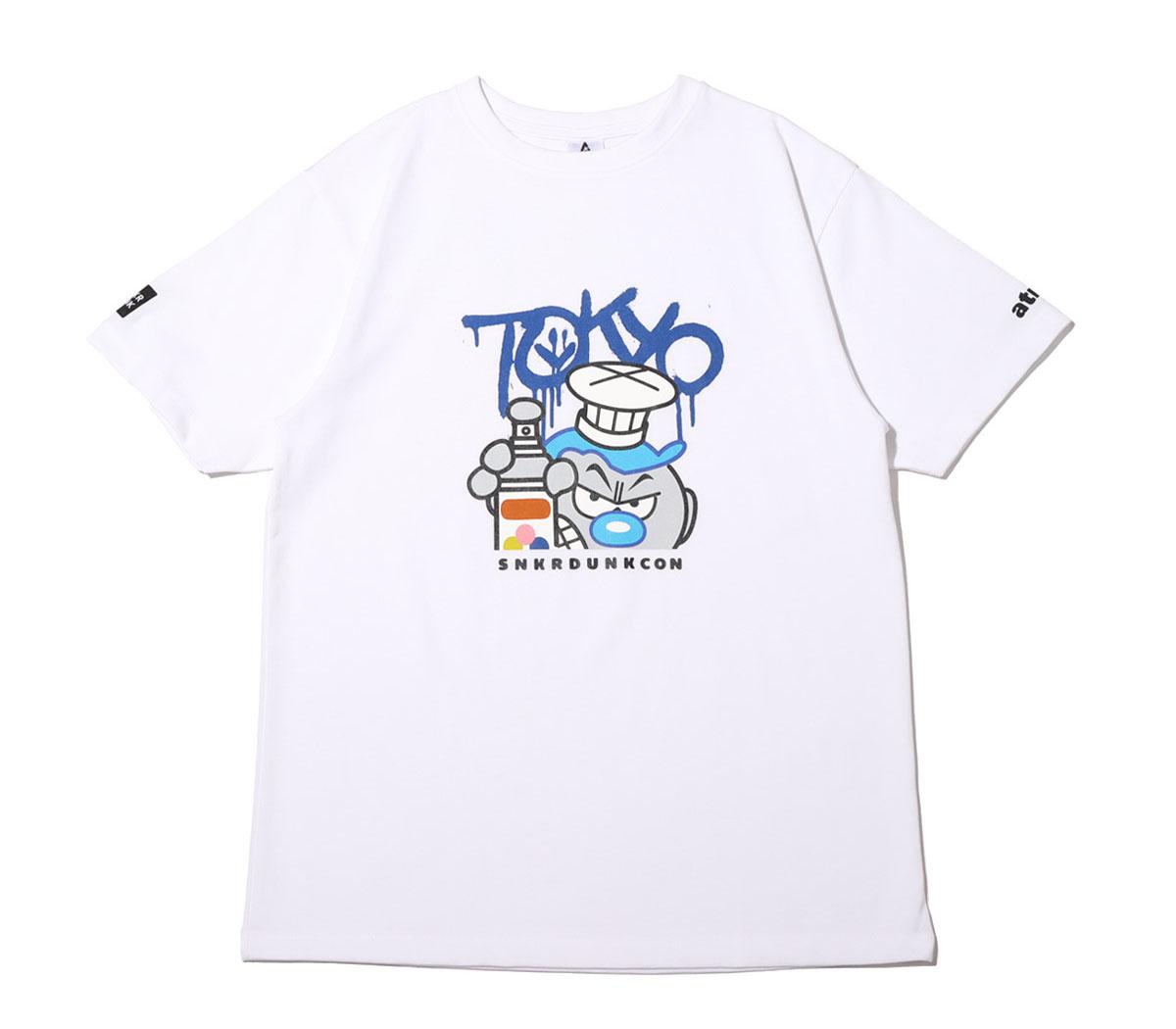 スニーカーダンク(スニダン)×COOK(クック)×atmos(アトモス) 東京限定Tシャツ